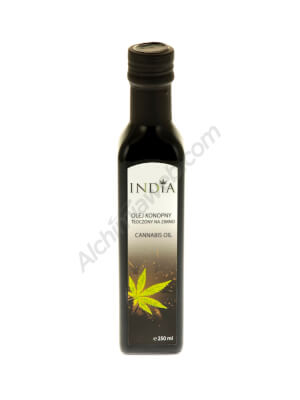 India Cosmetics 250ml Cold Pressed Hemp Oil