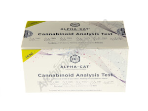 Alpha-Cat Mini-Kit analyse des cannabinoïdes