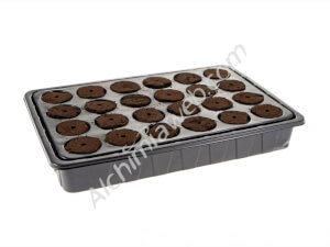 Propagation Tray of 24 Fleximix Root It Plugs