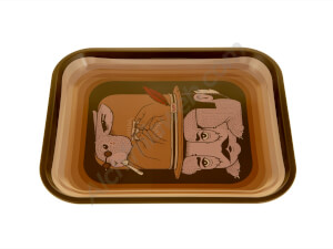 Raw Fish Smoking Tray