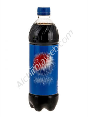 Cola bottle with compartment