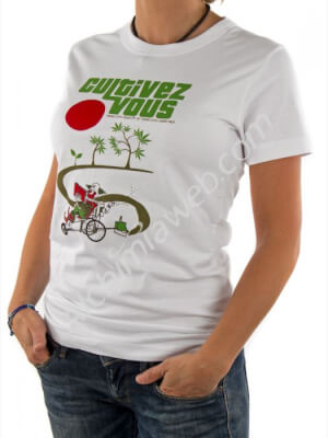 Camiseta Mujer Cultivez Vous