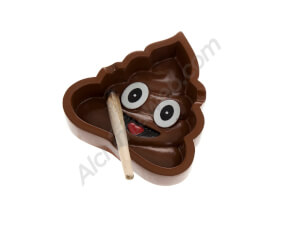 Emoji Shit Ashtray