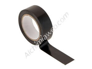 Black insulating tape 10m x 19mm