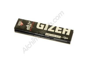 Gizeh Black King Size Slim + Tips