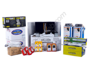 Kit Adjust Hellion Alchimia 2x 600W DE + placard de culture 240L