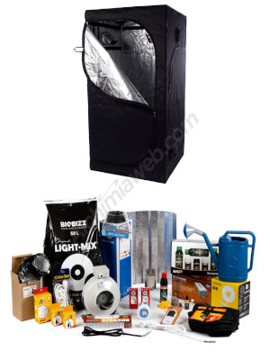 Kit initiation 400 w + Armoire Alchimia Box 100x100x200
