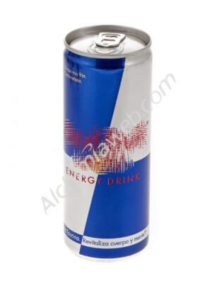 Compartment Energy Drink Can