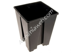 5.8L Anti-Spiral square black pot