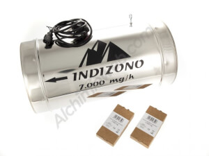 Ozonizador Indizono 250mm (7000mg/h)