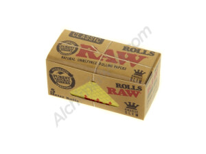 Papel de fumar RAW NATURAL Rollo