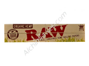Papel de fumar RAW ORGANIC King Size SLIM 32un