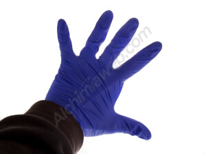 Pair of black Nitrile gloves