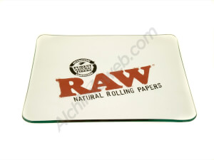 Raw Limited Edition Crystal Glass Rolling Tray