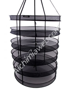 Alchimia circular drying net - 95cm 6 shelves