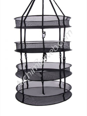 Alchimia circular drying net - 55 cm 4 shelves