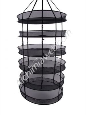 Alchimia circular drying net - 75cm 6 shelves