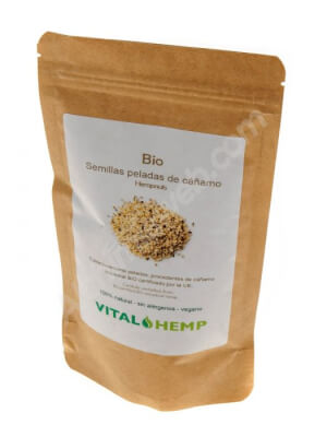 Vital Peeled Organic Hemp Seeds 250g