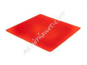 Red silicone mat