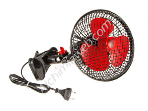 Cyclone oscillating clip fan