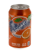 Orangeade can with compartment