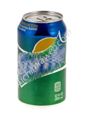 Compartment lemon lime soda drink can