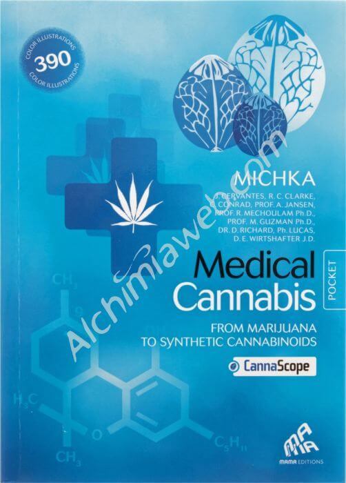 MEDICAL Cannabis English Pocket Edition (Blue)