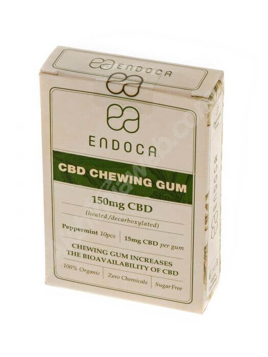 Chicle Orgánico 150 mg CBD ENDOCA