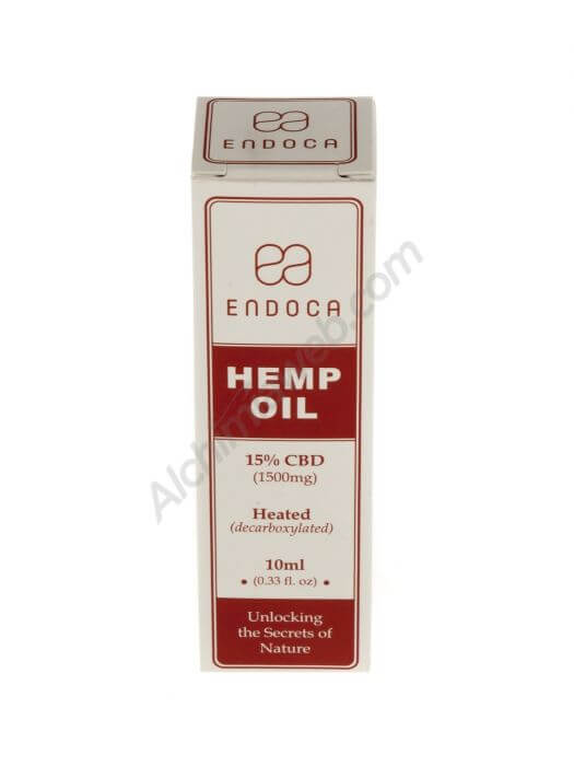 Endoca Hemp Oil Drops 1500mg CBD