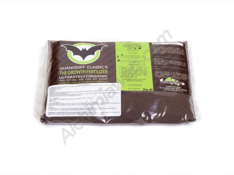Vente de guano de chauve souris guanodiff classic 39 s powder for Terreau cannabis exterieur