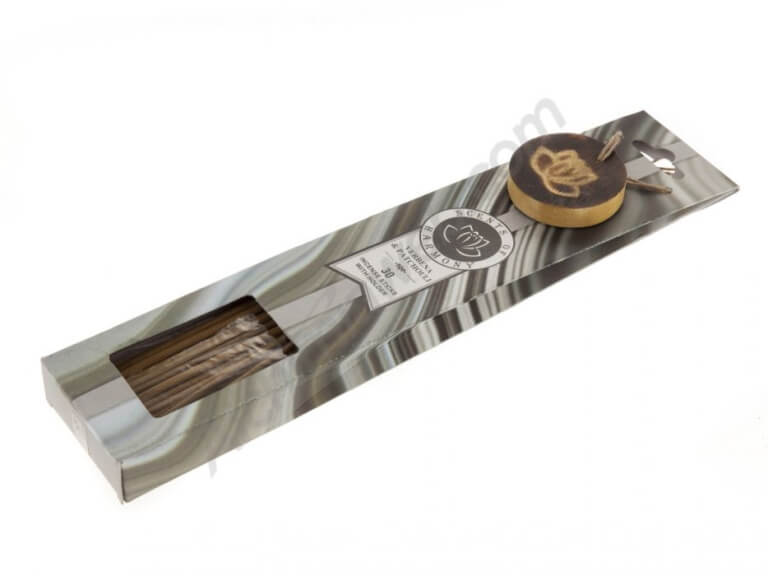 Karma Scents 30 sticks with wood incense holder