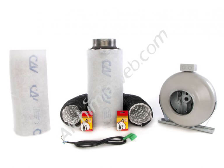 150/630m3 Alchimia air extraction kit