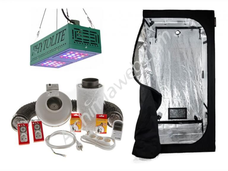 Vente de kit led phytoled gx 100 alchimia box 60 for Kit culture cannabis interieur