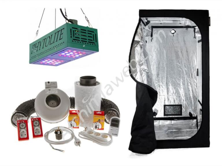 Vente de kit led phytoled gx 100 alchimia box 60 for Chambre de culture kit complet cannabis