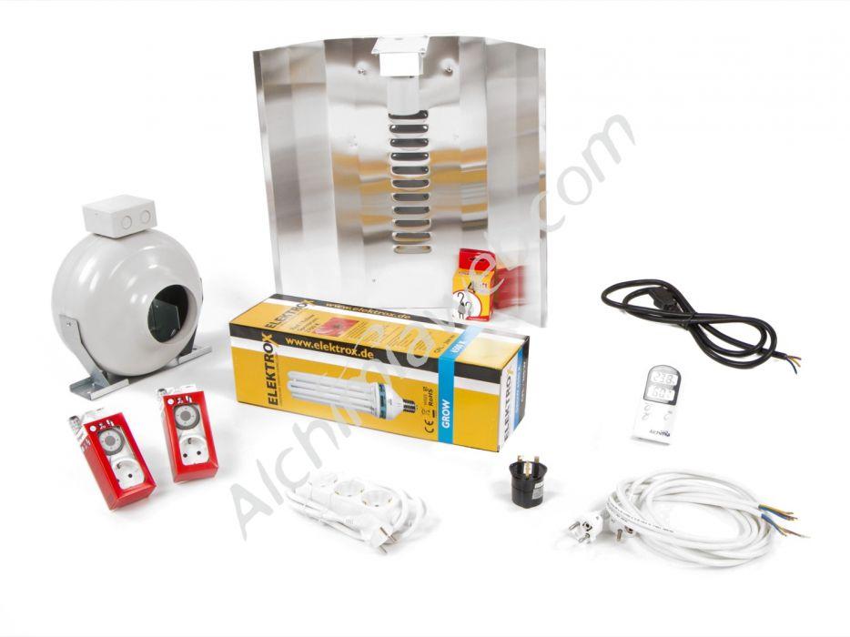 Sale of 200w energy saving mother plant kit alchimia box 80 for Energy efficiency kit
