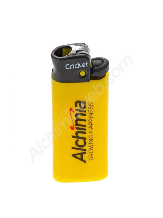 Briquet Mini Cricket Alchimia Growing Happiness - Jaune