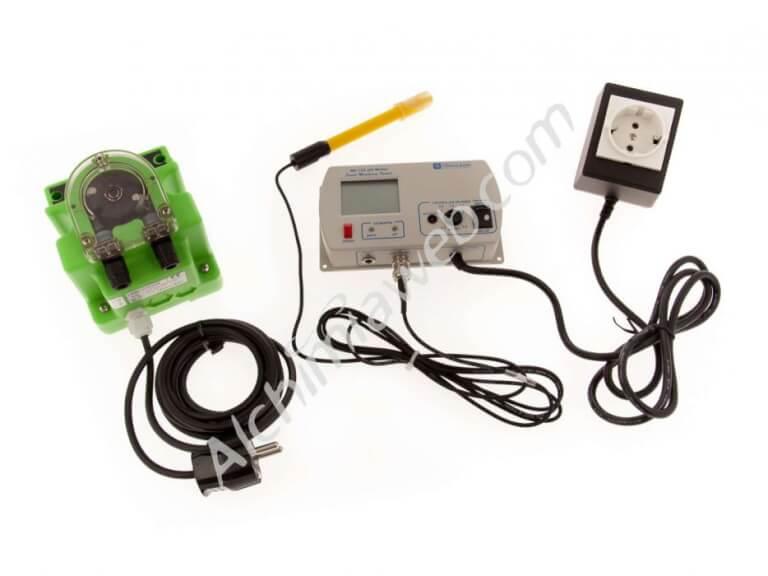 sale of milwaukee mc720 ph controller with dosing pump rh alchimiaweb com Ph Controller System Portable Tank pH Adjustment