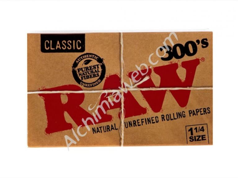Papel RAW 300 hojas 1.1/4 Size