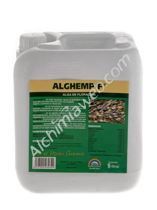 Trabe alghemp f floraison 5 l algues marines for Engrais floraison cannabis exterieur